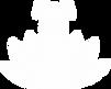 Logo de l'entreprise Canirvana - Chien et lotus blanc