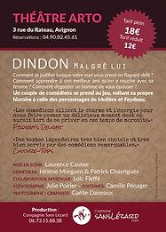 Flyer «Dindon malgré lui»