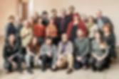 Photographie d'équipe de la liste électorale