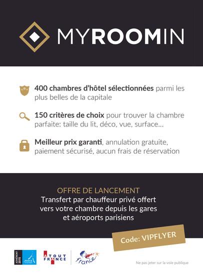 Création d'un flyer pour Myroomin (verso)