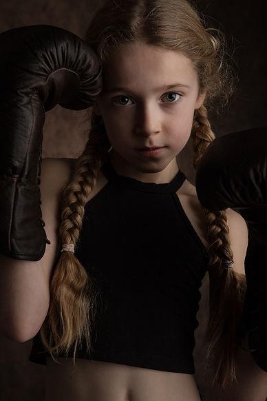 Portrait «la boxeuse»