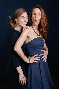 Photo entre soeurs