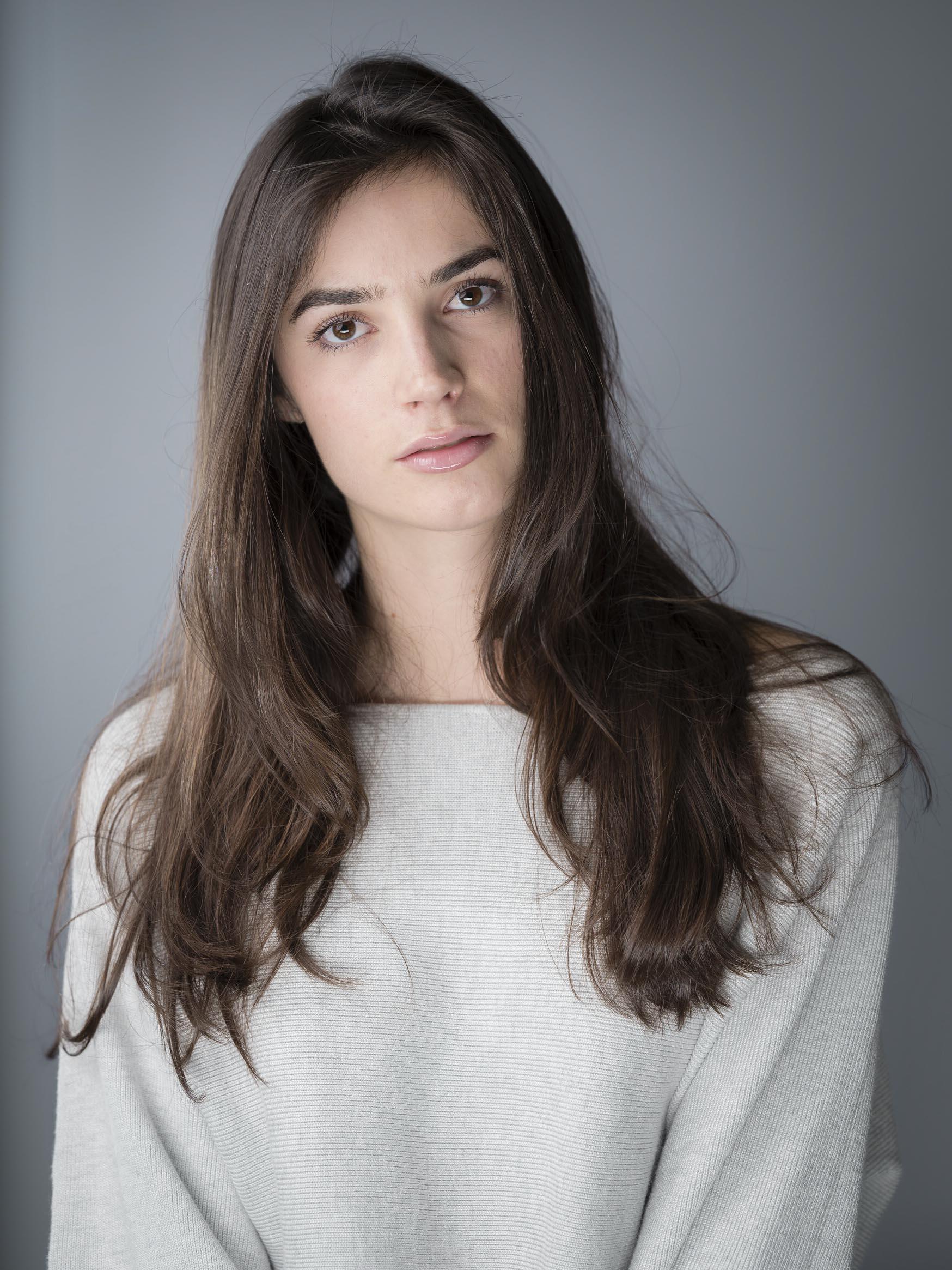 Portrait en studio