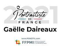 Titre de portraitiste de France 2021