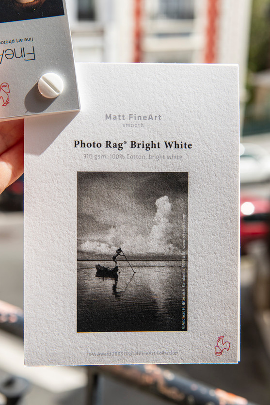 Papier FineArt Photo Rag Bright White