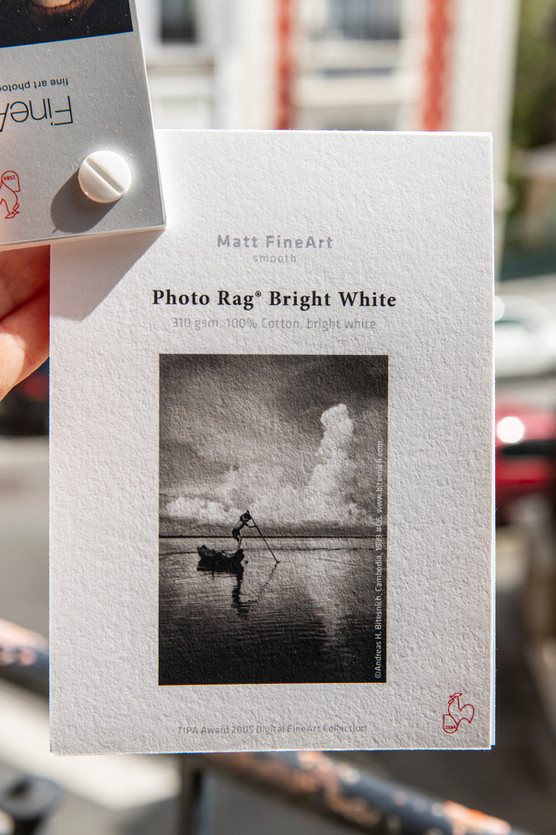 Papier FineArt Photo Rag Bright White