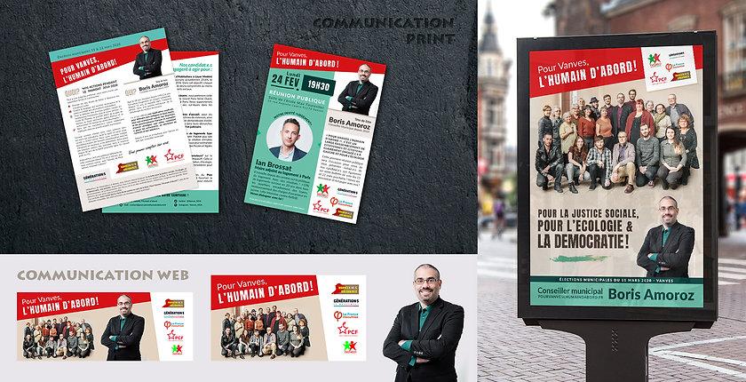 Communication de campagne électorale