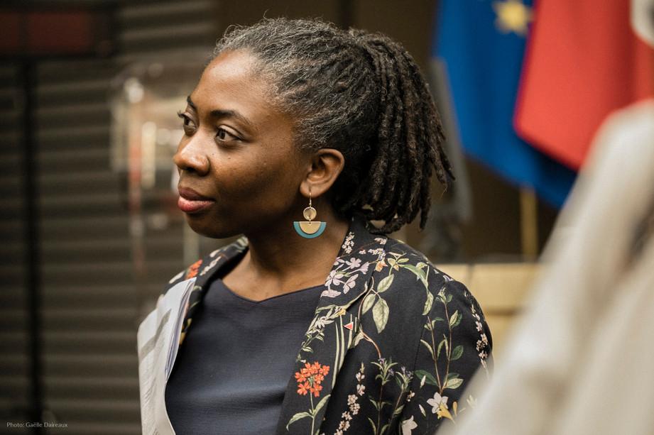 Danièle Obono, députée de Paris
