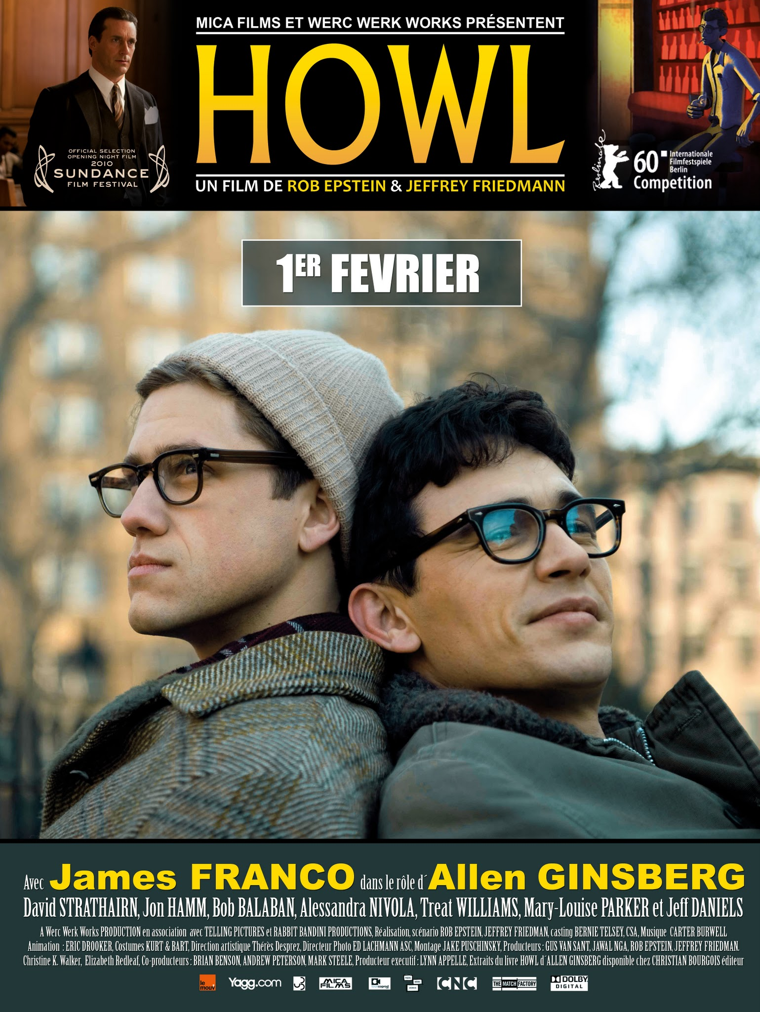 Affiche du film Howl