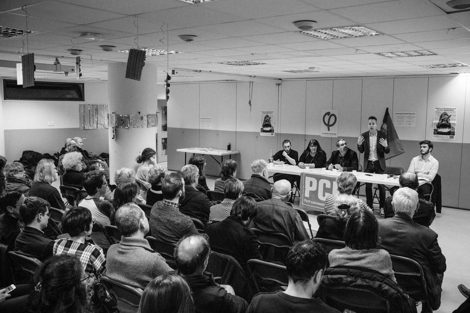 Ian Brossat à Vanves pour les électionsmunicipales.Ian Brossat à Vanves pour les électionsmunicipales.