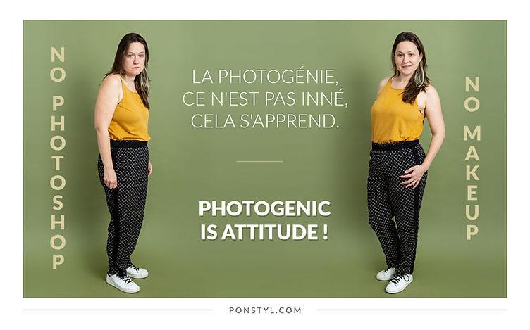 La photogénie est une attitude.