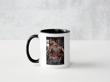 """""""Gabriel: Angel of Justice"""" & """"Amitiel: Goddess of Truth & Justice"""" Promo Book Swag"""