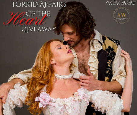 Torrid Affairs of the Heart Official Trailer, Blurb, & Giveaways