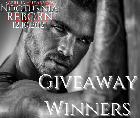 Nocturnia: REBORN Giveaway Winners