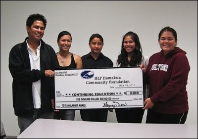 2010 Scholarship Recipients