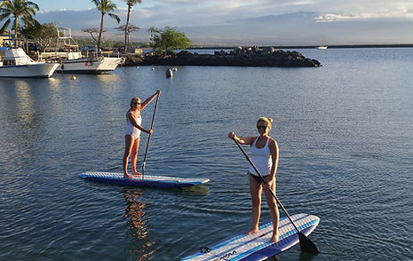 SUP lesson, paddleboard rentals, stand up paddleboard lesson, sup rentals, puako, kahala coast, big island, hawaii