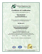 PI ISO Cert - OKC, OK Revised 9-20 #1020