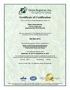 PI ISO Cert - OKC, OK Revised 9-20 #1020