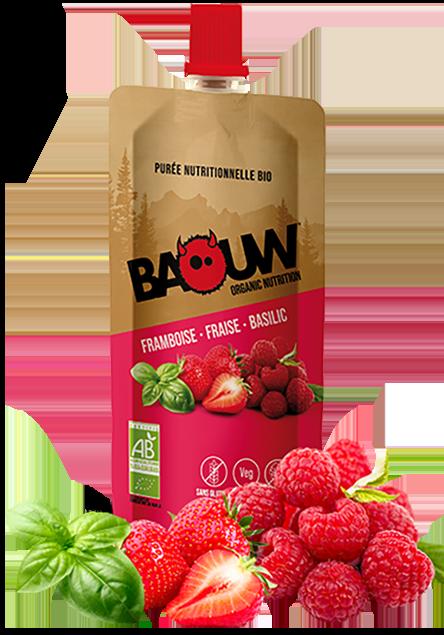 BAOUW Himbeere Erdbeere Basilikum