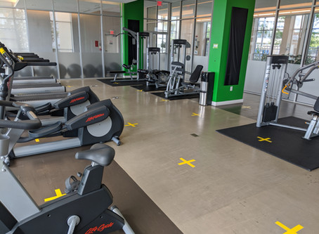 """Reopening: Fitness Facilities, Pool & Spa, and BBQs: """"I can't do that, Gym"""""""