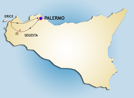 A perfect day-tour from Palermo: Erice and Segesta