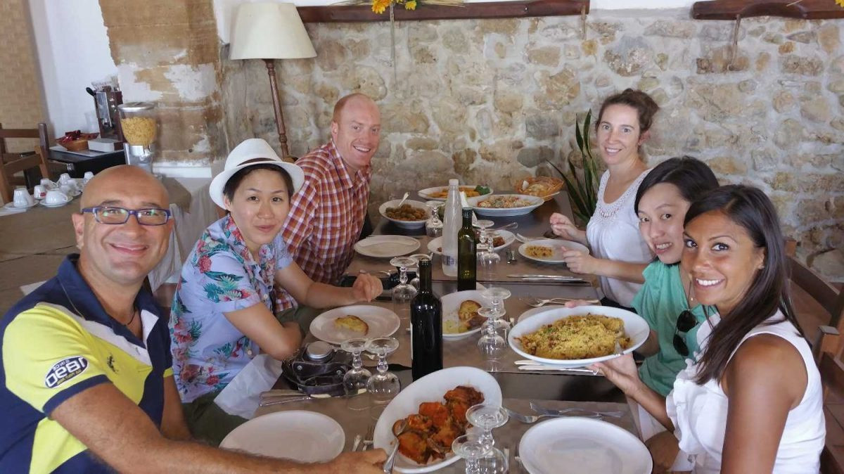 Lunch with Locals Sicily