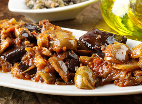 Palermitan Caponata Recipe - Sweet and sour Caponata