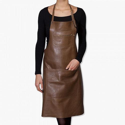 zipper style aprons classic kleur taupe