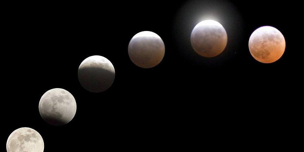 Eclissi di Luna a Monte Cucco