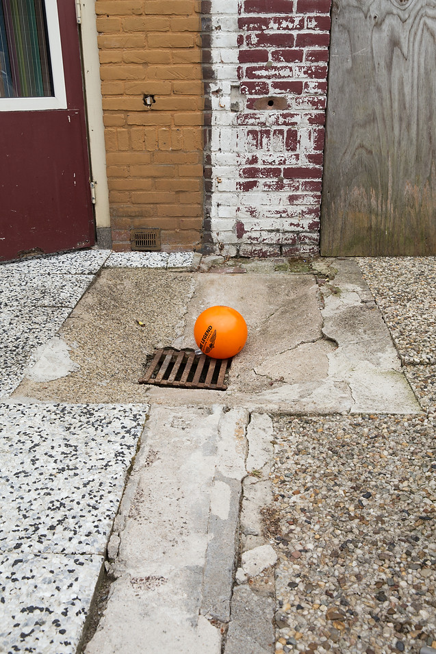 Orange ball, 2018