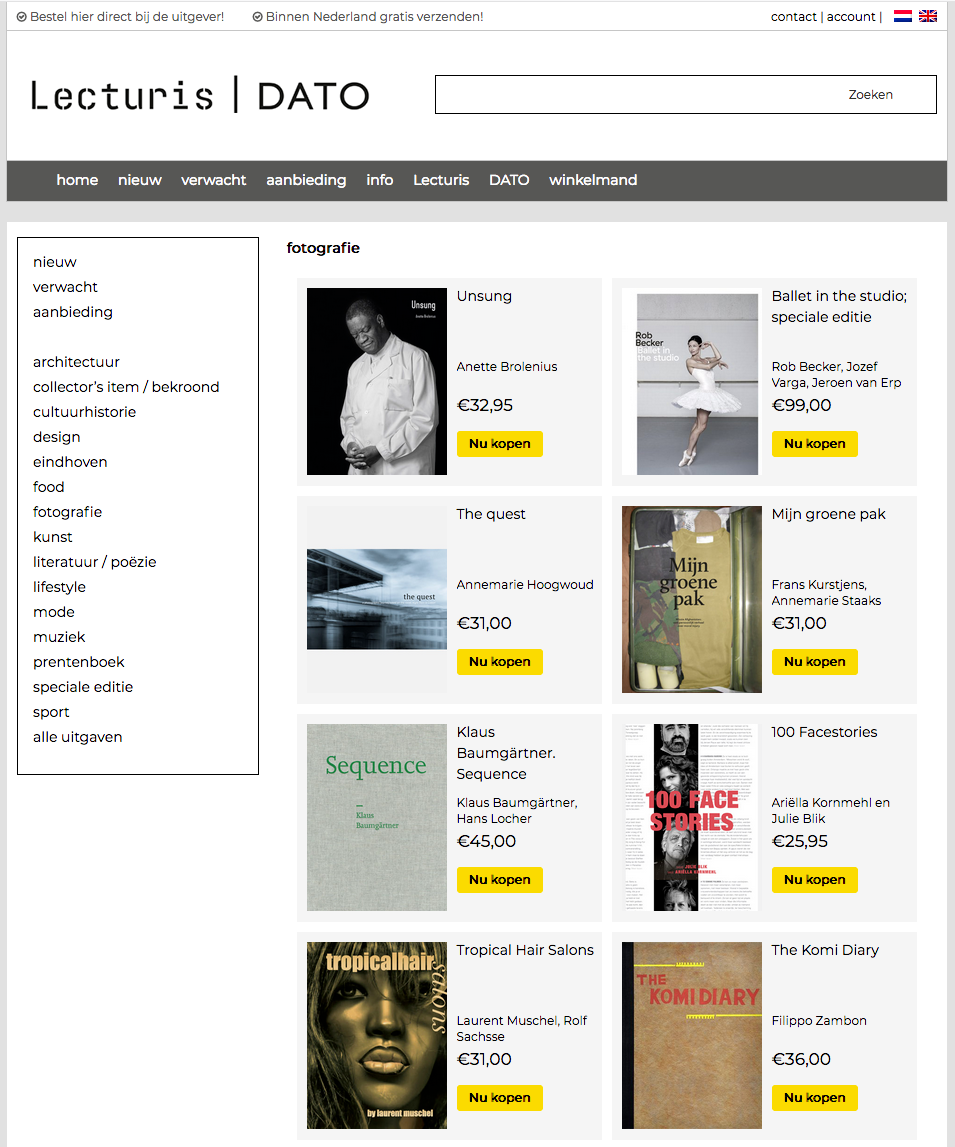 LECTURIS DUTCH PHOTOBOOK PUBLISHER PUBLISHES RIJNWIJK MIJN WIJK ERIK VAN CUYK