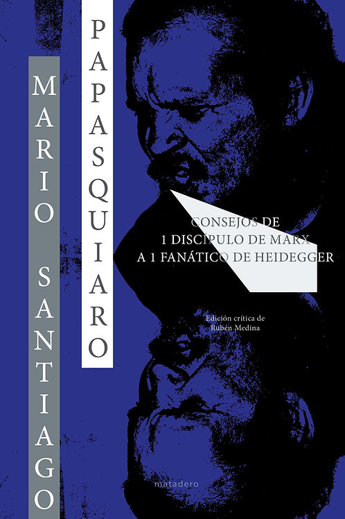 Consejos de 1 discípulo de Marx a1 fanático de Heidegger