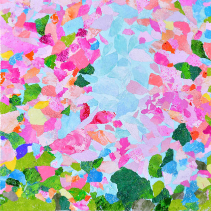 Stream of petals