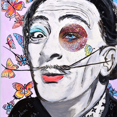 Dali with Butterflies