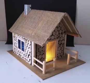 Виготовлення хатинки