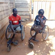 Decent Banda and Teererai Demba