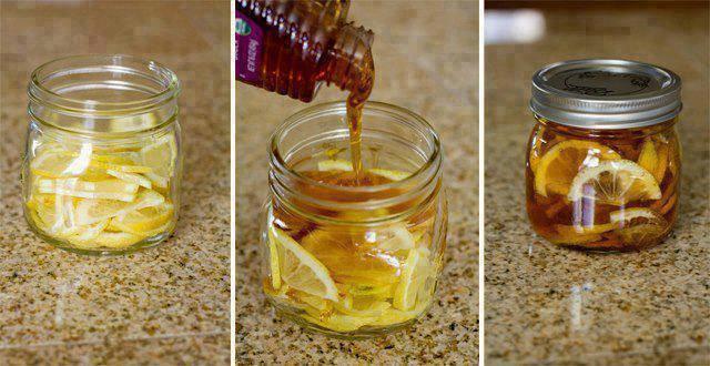 Nectar de grand-mère contre les maux de gorge...
