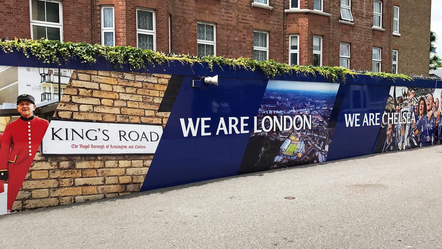 Chelsea FC Hoarding