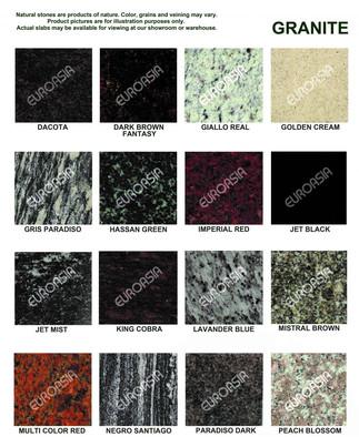 Granite Materials 1/3