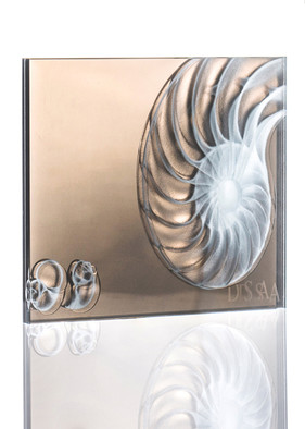 Sandblasted Glass Bronze