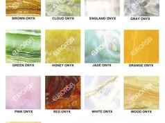 Onyx Materials