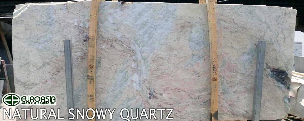 Natural Snowy Quartz