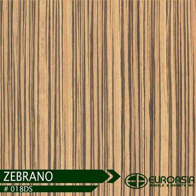 Zebrano #018DS