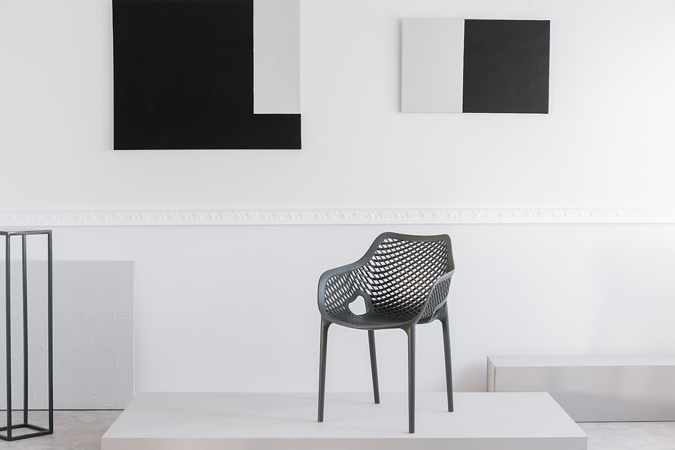 fashionable-grey-metal-chair-on-white-pl