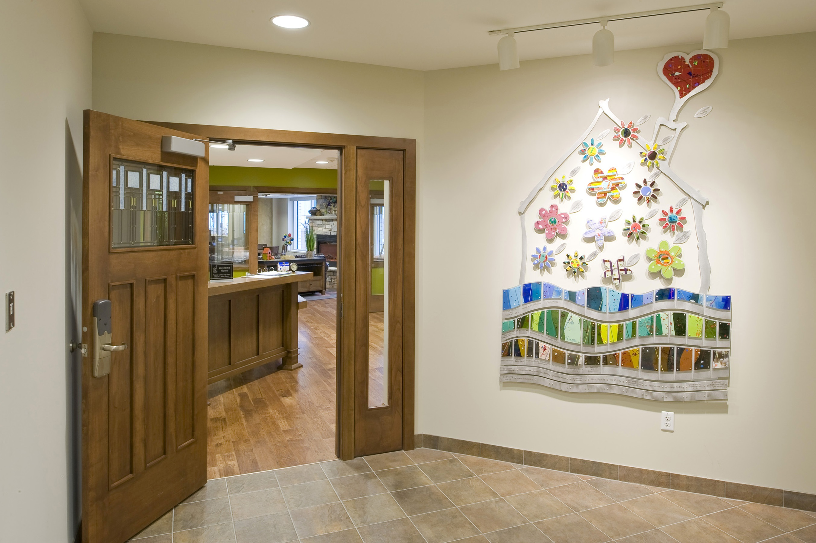 Ronald McDonald House Donor Wall