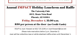 Our Last Networking Event, Friday, Dec. 4