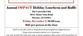 IMPACT Holiday Luncheon and Raffle