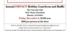 Holiday Luncheon and Raffle