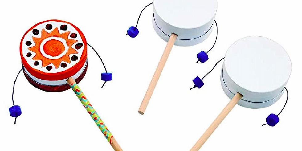 Dance, Play, and Make Your Own Drum