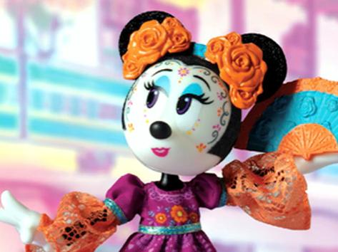 No sólo Barbie, también Minnie celebra Día de Muertos